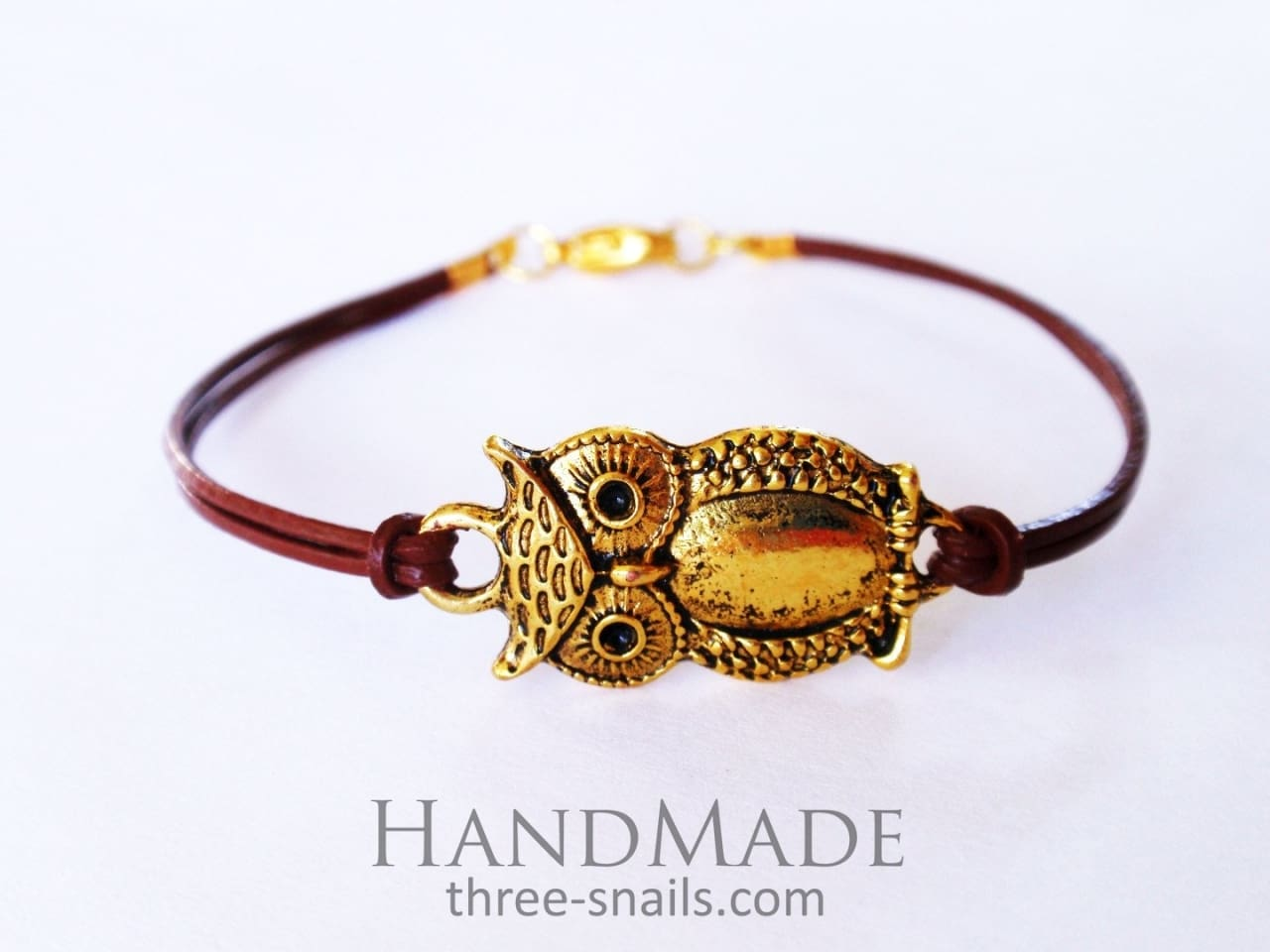 Bracelet with String «Small Owl» - 1