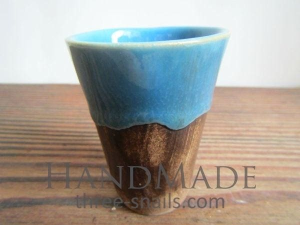 Brown Round Pot For Cactus Blue Lace - Plant Pot