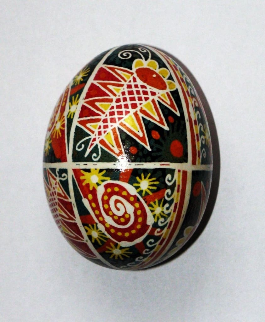 «Butterfly» pysanka (Easter egg) - 1