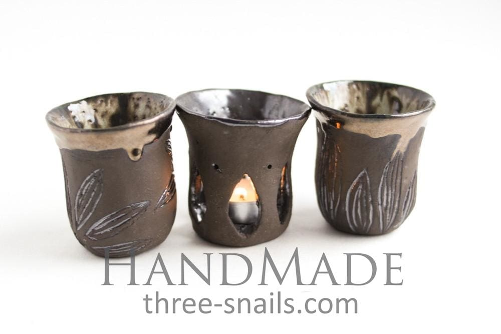 Candleholder Ceramic Set Secret - Candle Holder