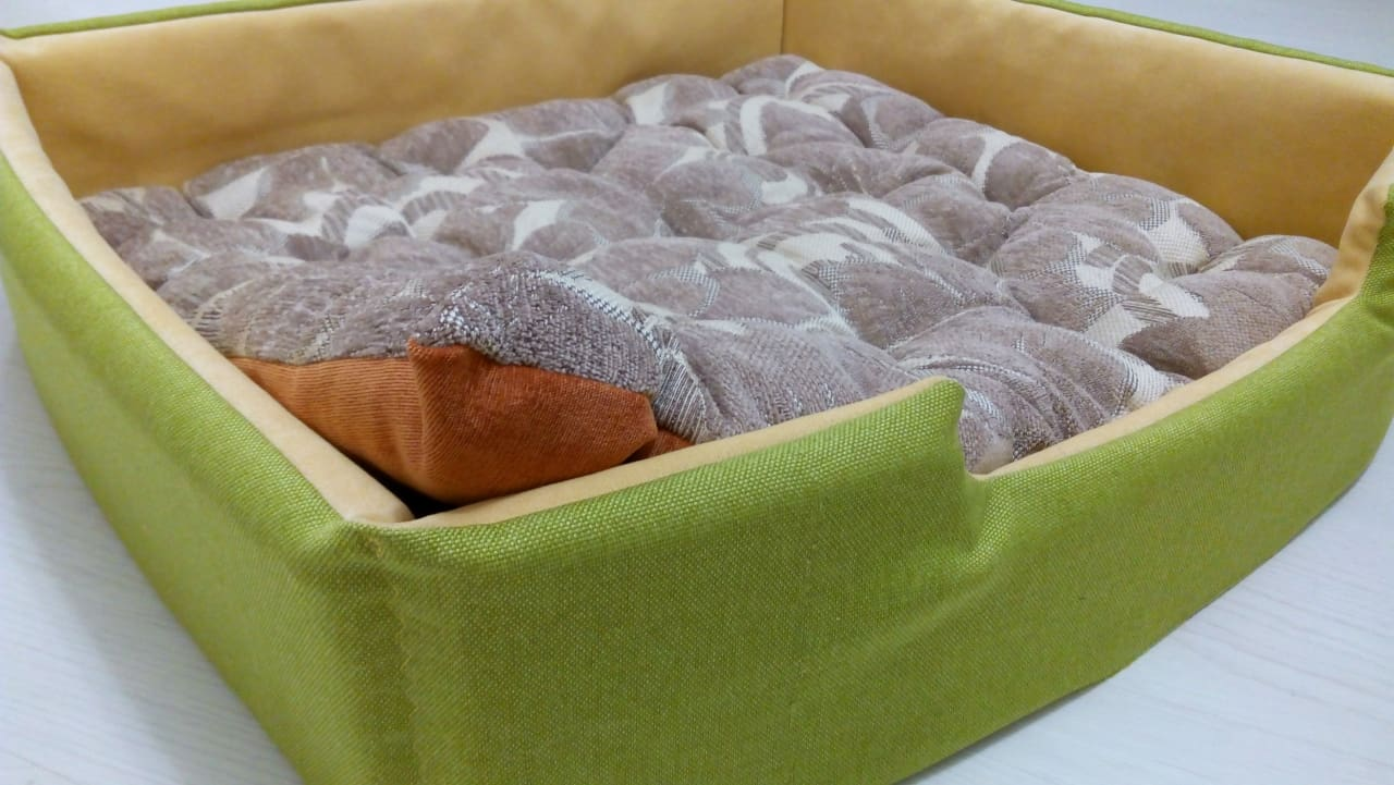 "Cat bed ""Lime"" - 1"