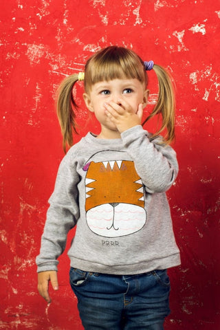 «Cats Family» Sweatshirt - Baby Clothes