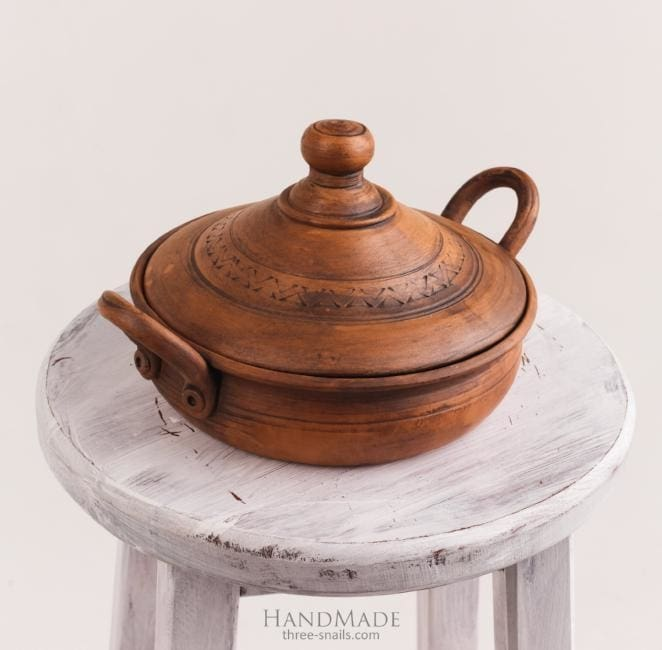 Ceramic Cook Pot Moon Light - Cook Pot