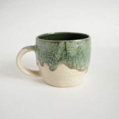 Ceramic Cups And Bowls Set Green Design - Cup And Mug