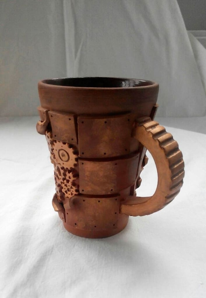 Ceramic Cups Mechanical Art - Cup And Mug