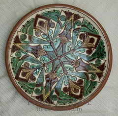 Ceramic Decorative Plate Magic Forest - Melnichenko1