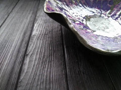 Ceramic Dishes Violet Crocus - Plate