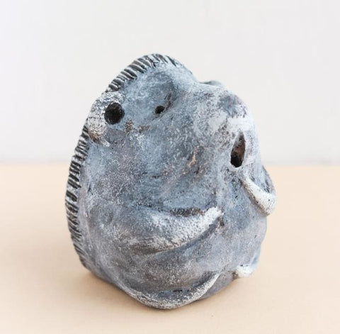 Ceramic Figurine Hedgehog - Vasylchenko1