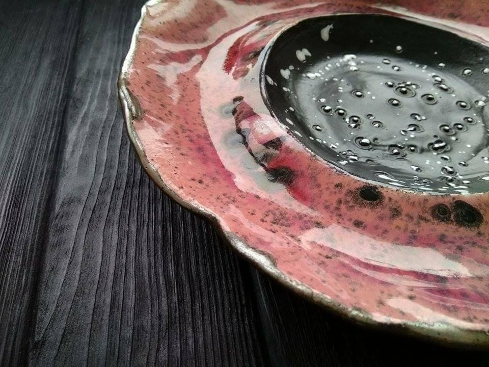 Ceramic Plates Poppy Bloom - Plate