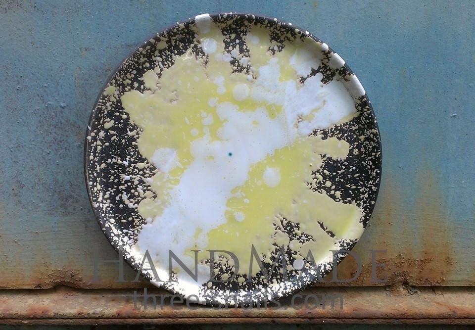 Ceramic Serving Dish Sun Rays - Plate