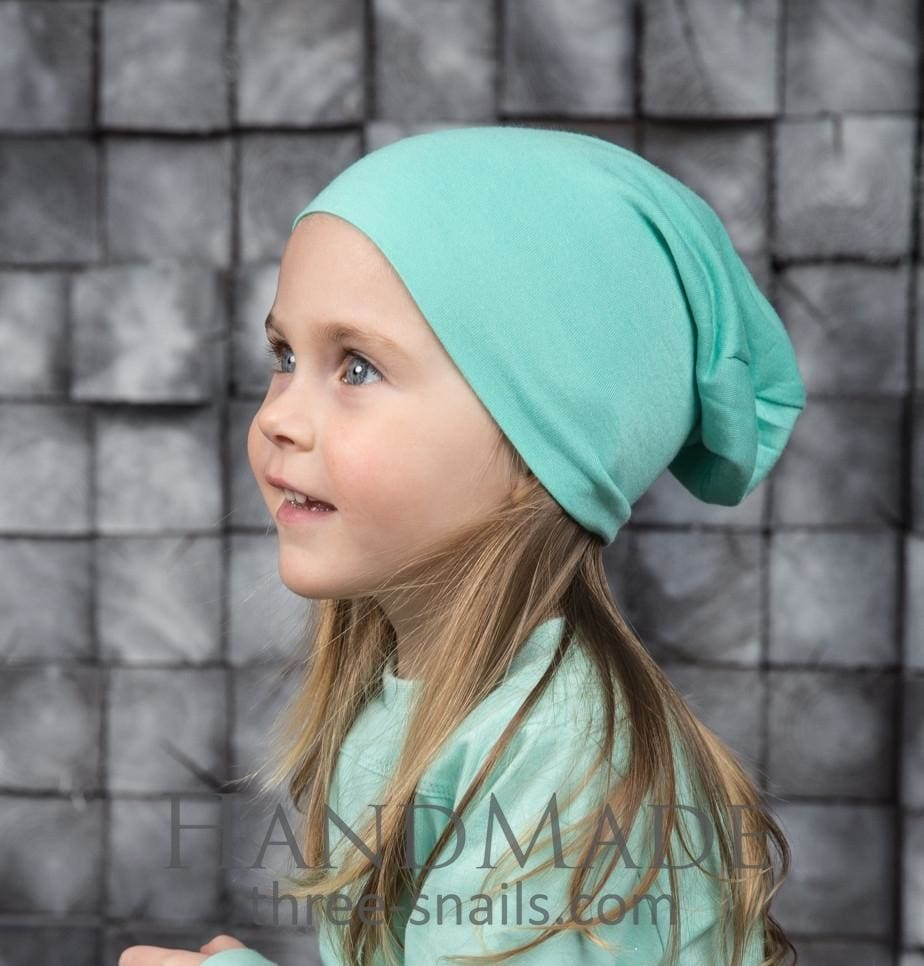 Child Hat Mint Light - Baby Clothes