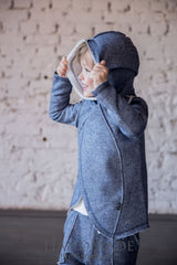 Child Hoodie Bat Without Buttons - Baby Clothes