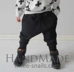 Childrens Pants Stylish Black - Baby Clothes