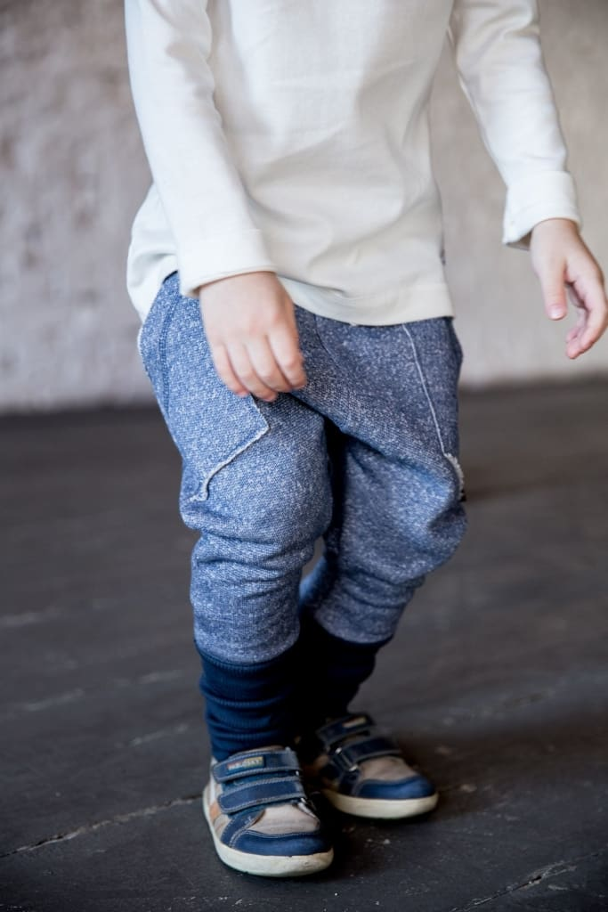 Childrens Pants Stylish Blue - Baby Clothes