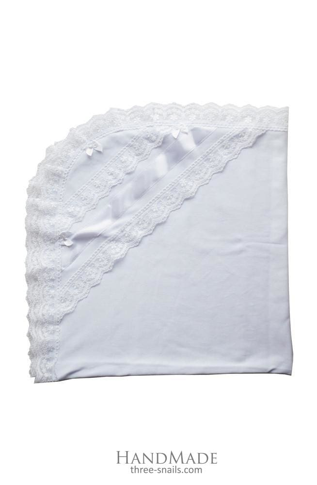 "Christening blanket ""Lace"" - 1"