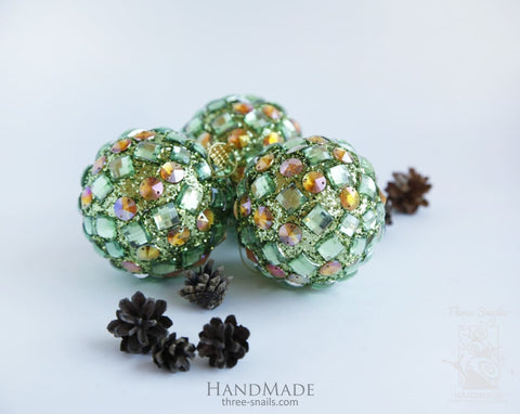 Christmas Decoration Ball Sparkle - Vasylchenko1