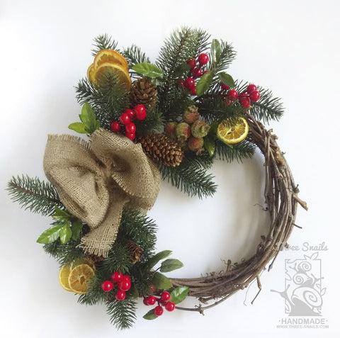 Christmas Door Wreath Christmas Stories - Vasylchenko1