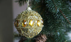 Christmas Tree Toys Set Amber Halo - Vasylchenko1