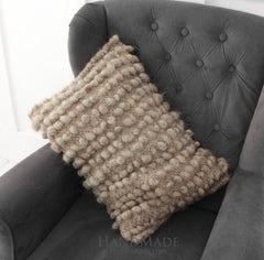 Chunky Wool Decorative Pillow For Sofa - Pillow