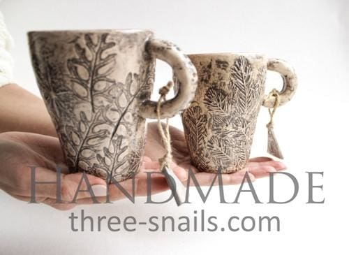 Clay Modeling Tea Cup Bronze Sun - Cup And Mug