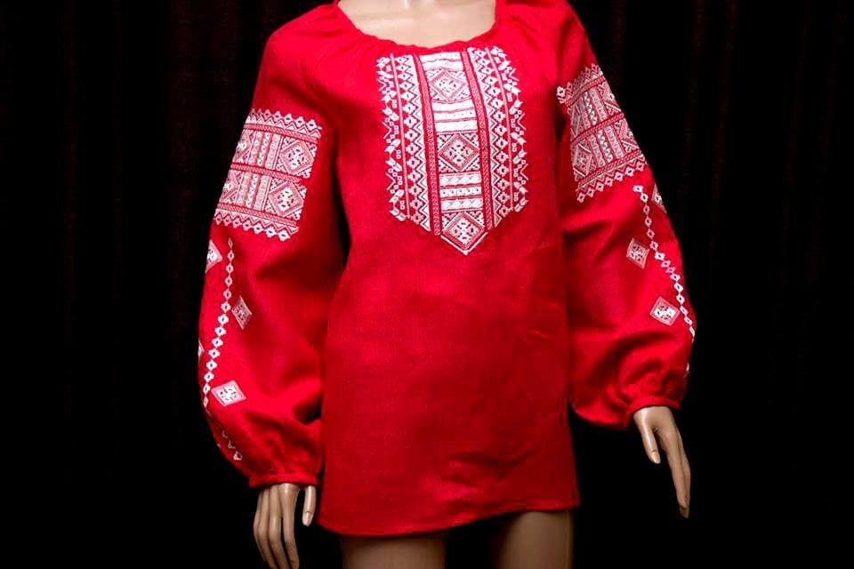 Clothing embroidery for women. Vyshyvanka blouse - 1