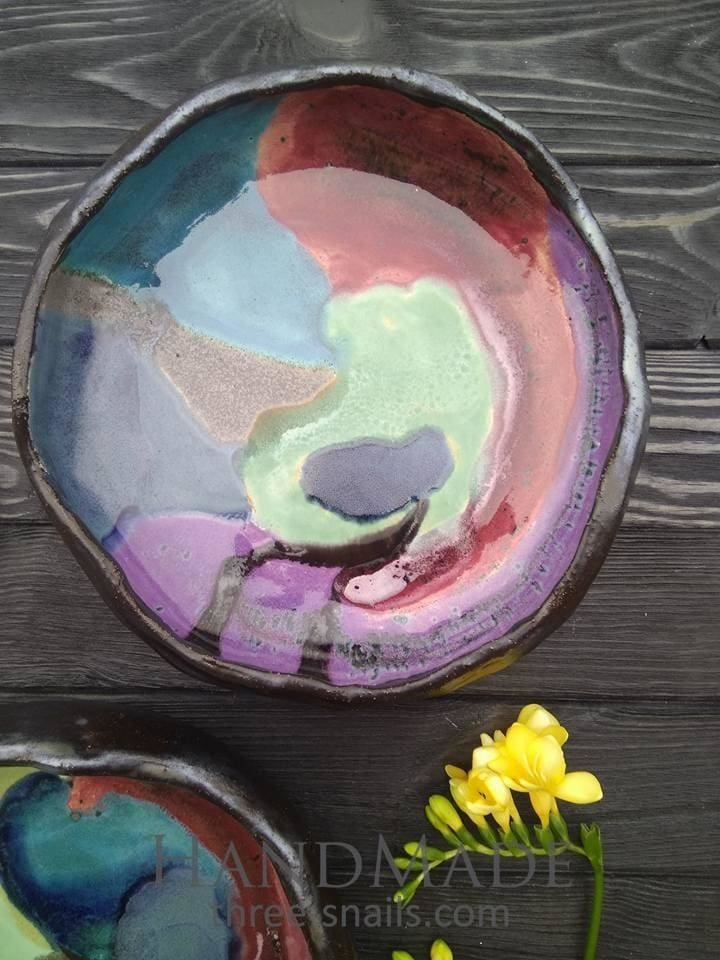 Colorful Bowl Bright Life - Plate