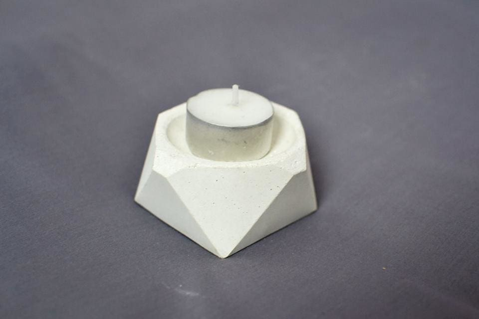 Concrete Candle Holders Minimalism  - Candle Holder