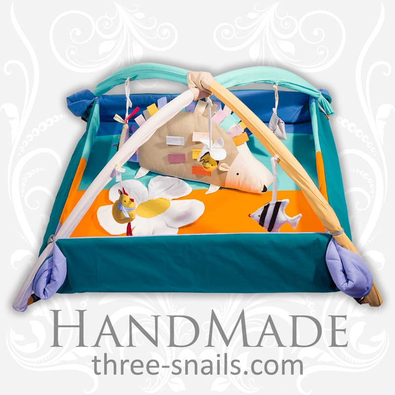 Cool Baby Playpen Hedgehog With Toys - Toy
