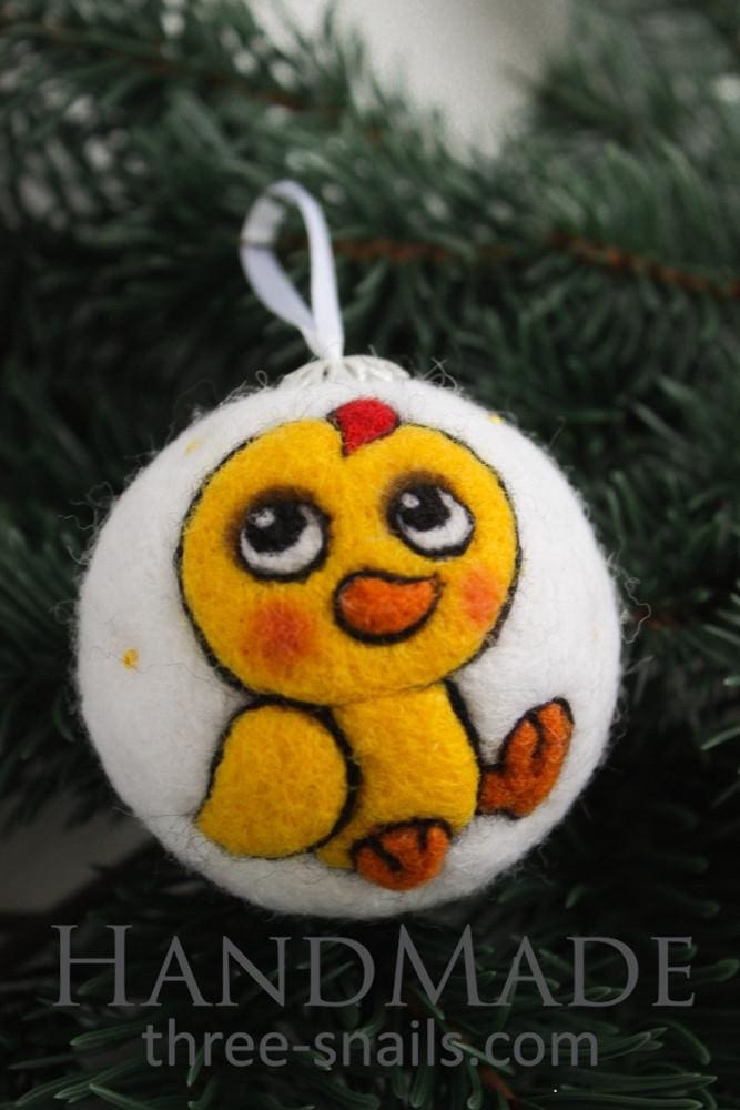 Cool Christmas Decorations Chick  - Vasylchenko1