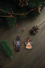 Cool Christmas Gifts Set Couple Of Angels - Vasylchenko1