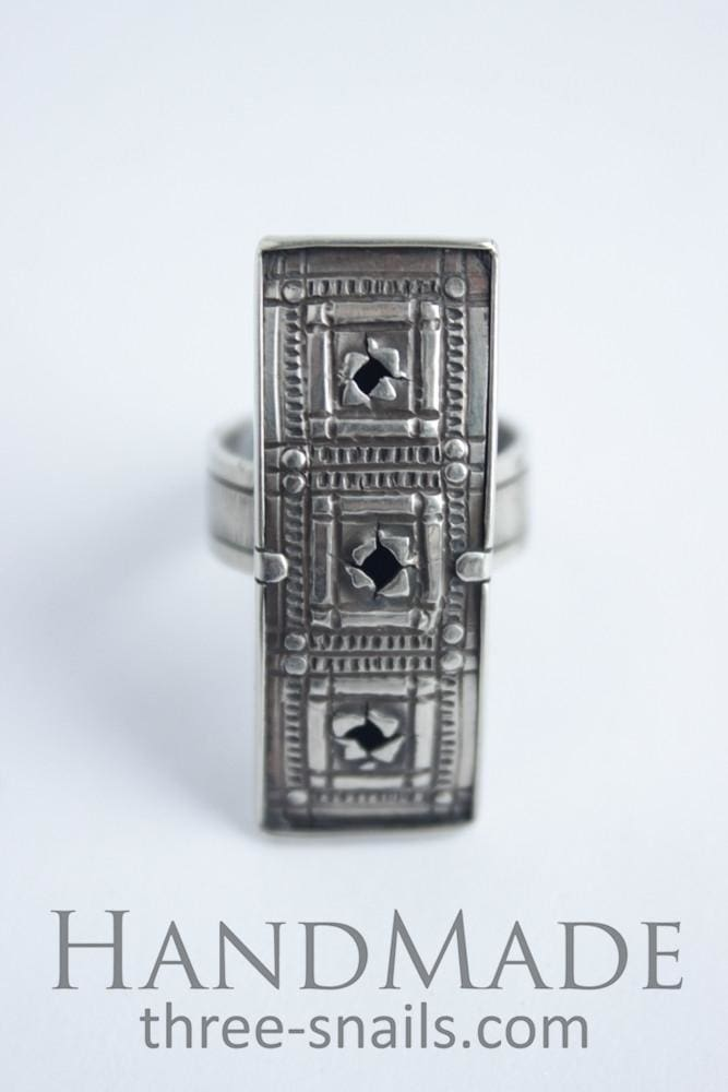 Costume Rings Three Squares - Melnichenko1