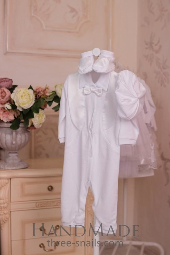 Cotton Baby Boy Suit Glory - Baptism Outfit