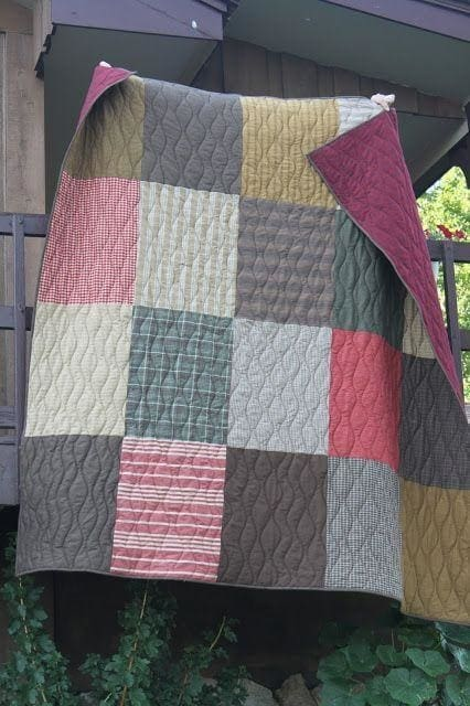 Cotton Quilted Throw - Throw