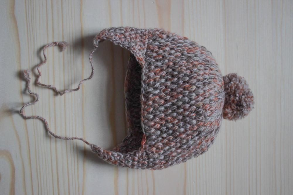 Crochet Baby Hats Beige Harmony - Baby Clothes