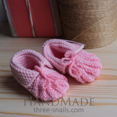 Crochet Booties Murshmallow - Booties