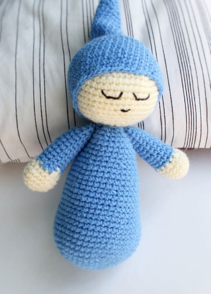Crochet Doll Sleepy - Toy