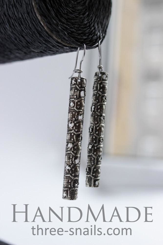 Cute Earrings Icicles - Melnichenko1