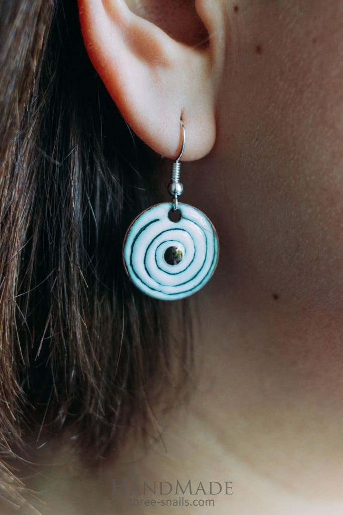 Cute Earrings Whirlwind - Melnichenko1