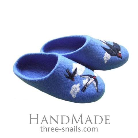Cute Slippers Good Swallows - Vasylchenko1