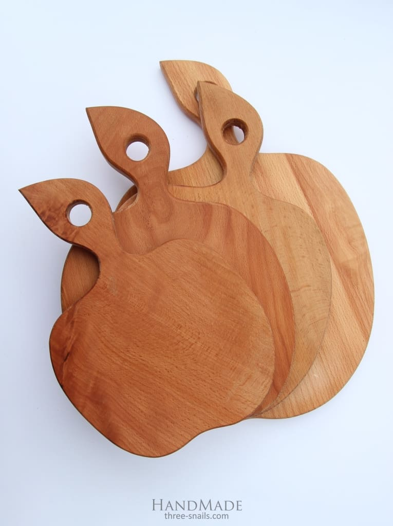 Cutting Board For Meat Apple - Cutting Board