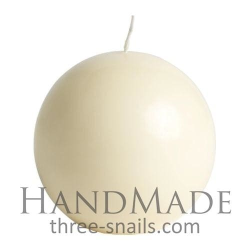 Decorated Candle Ball - White / Us - Candle