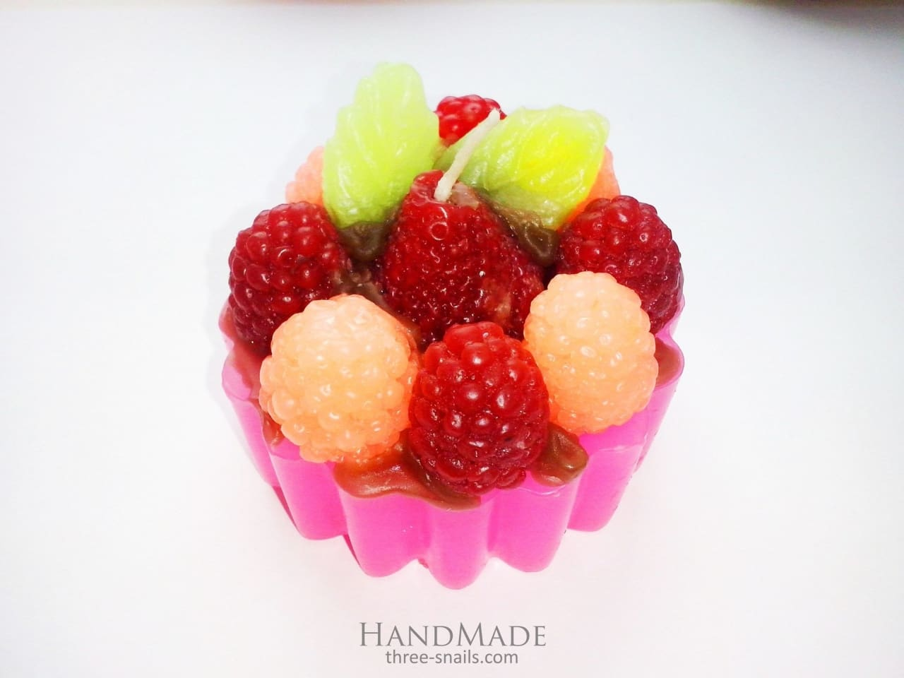 Decorative Candle Set Cupcake - Candle Set