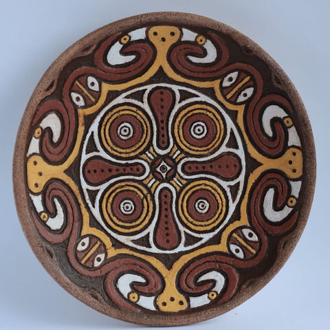 Decorative Ceramic Plate Heavy Crop - Melnichenko1