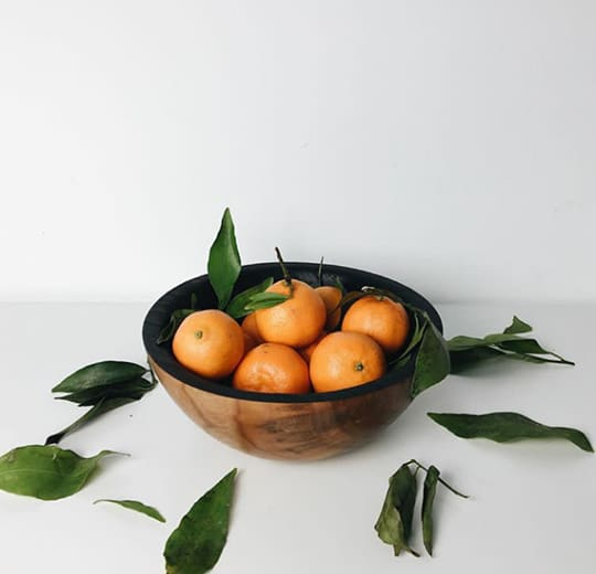 Decorative Wooden Bowl - Fruit Bowl