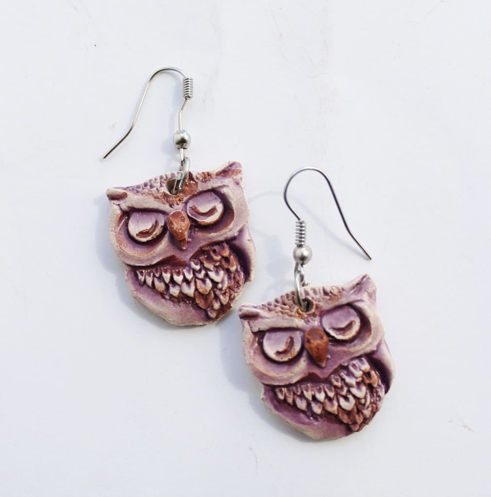 Diy Earrings Owl - Melnichenko1