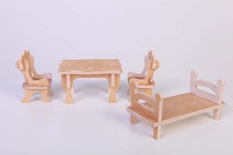 Dolls House Furniture Modern - Toy