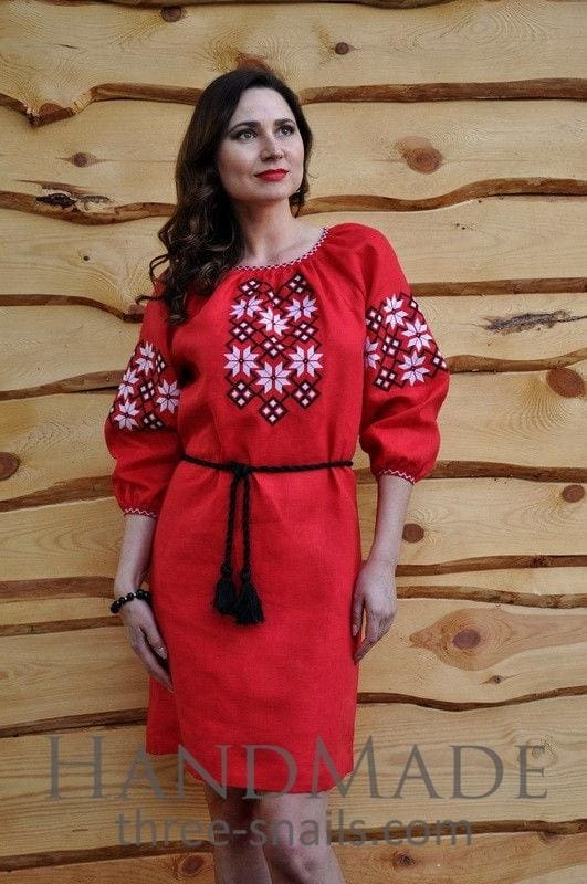 Dress Design Red Rose - Vasylchenko1