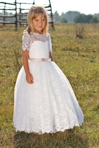 Dresses For Kid Girl Delicate Lace - Occasion Dress