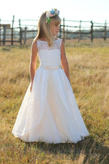 Dresses For Little Girls Snow-White Charm - Occasion Dress