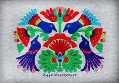 Embroided Woman T-Shirt «Birds» - Vasylchenko1